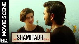 Akshara Haasan wants to make a film with Dhanush | Shamitabh | Movie Scene