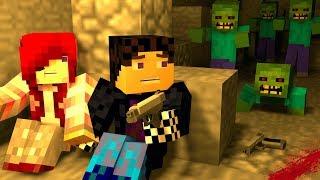 НАШЕЛ ЧЕЛОВЕКА? АРМИЯ ЗОМБИ! ЗОМБИ АПОКАЛИПСИС В МАЙНКРАФТ! - (Minecraft - Сериал)
