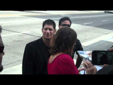 marcia gay harden signing autographs at the happy feet twop premiere 11 13 11