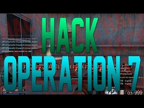 DEMOSTRACION| Nuevo Hack Operation7 Latino Mayo 2014|Cheat Engine+ Bypass|