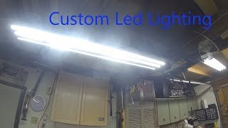 Garage Upgrades -  #1 -  Cheap Custom LED Lighting