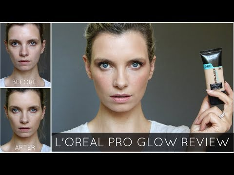 L'Oreal Pro Glow Foundation Review | A Model Recommends