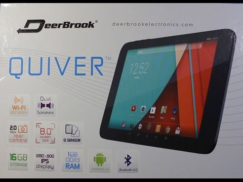 Deerbrook Quiver Tablet Unboxing and First Look