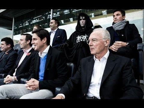Franz Beckenbauer Appels à la formation de l'équipe de notre planet