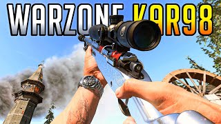 The Buffed Kar98k is AMAZING in Warzone! (Class Setup)