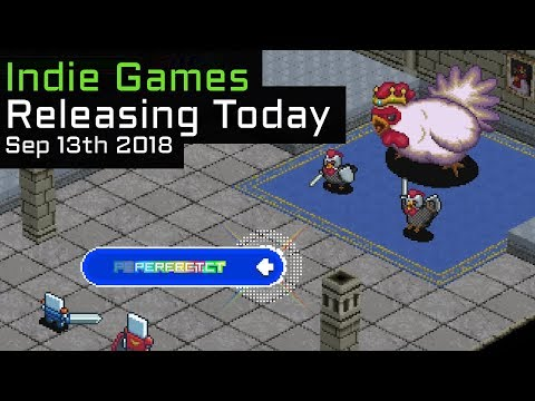 Top 10 New Indie Games Releasing Today - September 13th 2018