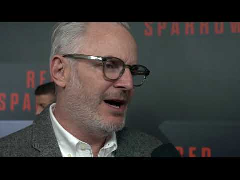 Red Sparrow Red Carpet  Francis Lawrence