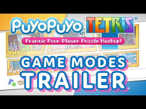 The Colorfully Crazy Game Modes of Puyo Puyo Tetris