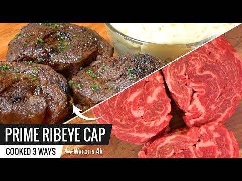 Best Way to Cook PRIME RIBEYE CAP Steak Sous Vide and Joule by ChefSteps Giveaway