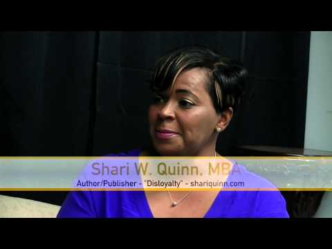 "Scene TV - Shari Quinn - Author; ""Disloyalty"""