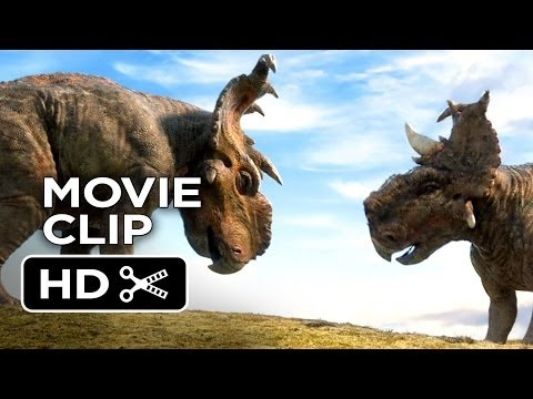 Walking With Dinosaurs 3D Movie CLIP - Headbutting (2013) - CGI Movie HD
