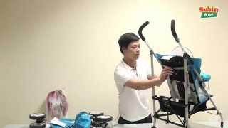Hướng dẫn lắp ráp và sử dụng xe đẩy trẻ em Seebaby S02-1