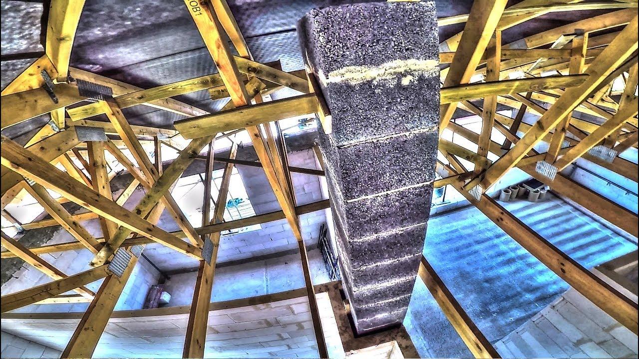 Instrukcja montażu komina cz.2/2 Wyzwanie #35 . Budowa domu krok po kroku. Dzień 38