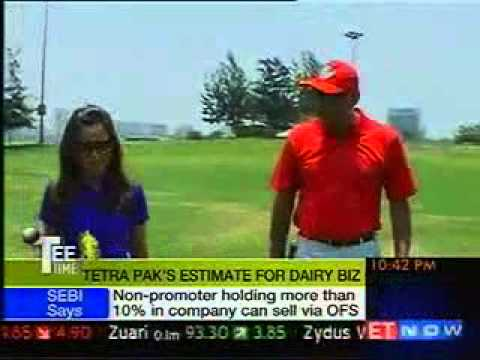 Kandarp Singh, MD, Tetra Pak, South Asia Market on Tee Time at ET Now