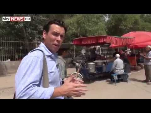 Censorship In China: Sky's Mark Stone In Xinjiang Province