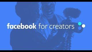 Introducing Facebook For Creator