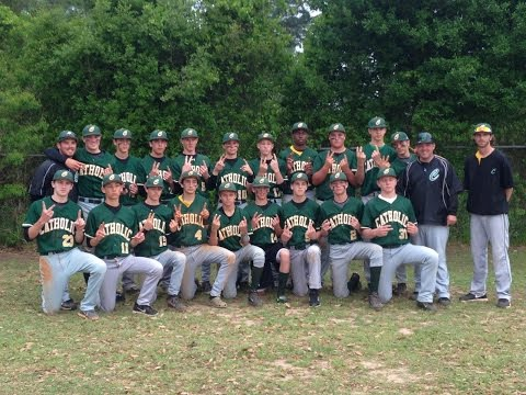 2014 Pensacola Catholic High School Junior Varsity Baseball Year-End Video - 08/06/2014