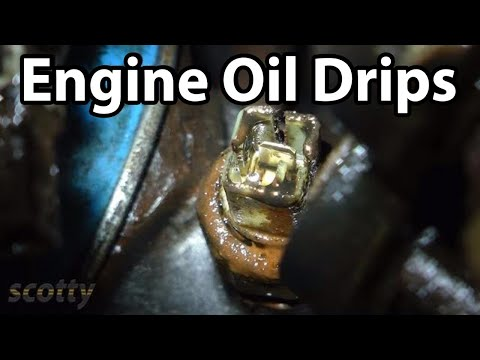 Fixing Engine Oil Drips