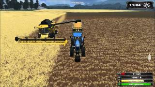 Pro, Farm, map, farming, simulator, 2011, Harvesting, bale, press