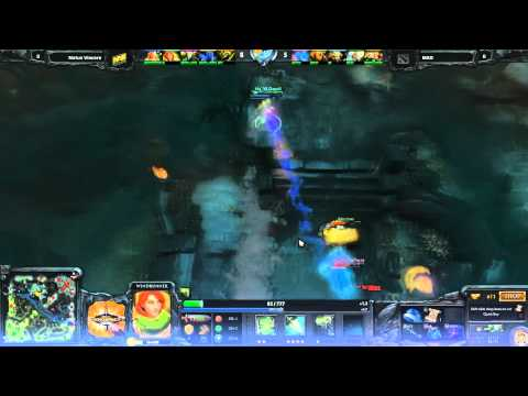 Dendi Crazy Juking Vs MAD at Dreamhack 2012