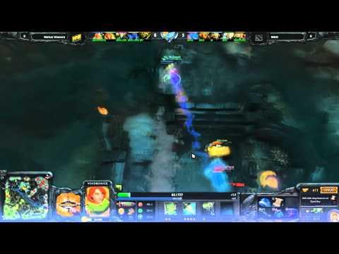 Dendi Crazy Juking Vs MAD at Dreamhack 2012