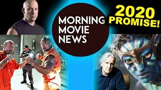 Dwayne Johnson & Jason Statham Fast & Furious Spin-Off! Avatar 2020, 2021, 2024, 2025