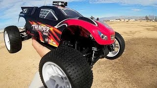 ZD Racing Brushless ZTX-10 Thunder 10423-S  1 10 Scale RC Car Test Drive Review