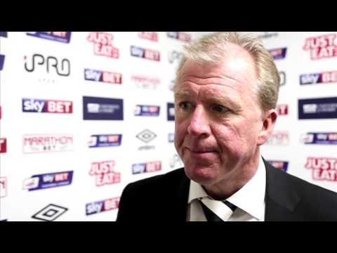 DERBY COUNTY 3-2 HUDDERSFIELD | Steve McClaren Post Match