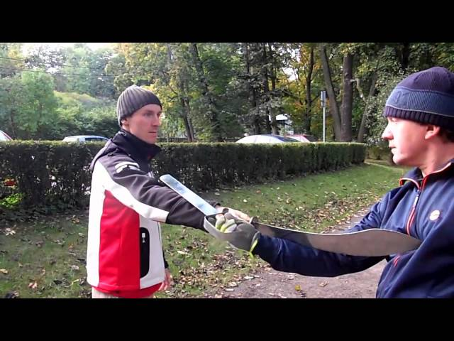 Butterfly Swords and Dao Sword Tai Chi