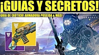 Destiny 2: Como Conseguir Señor de los Lobos & Armadura Poseída! Secreto en Costas! Como Subir Nivel