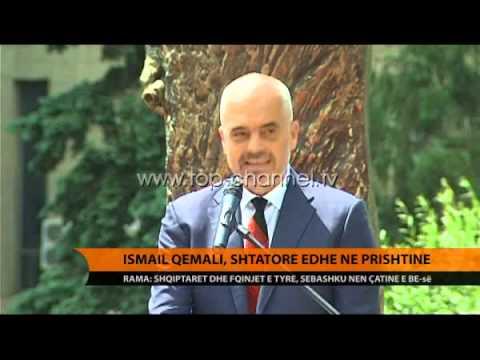 Shtatore e Ismail Qemalit në Prishtinë - Top Channel Albania - News - Lajme