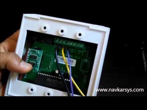 RFID Access Control Wiring Jumper Settings