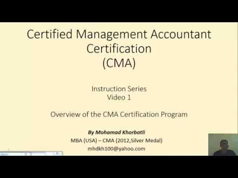 CMA Accounting Certification How hard it is?