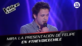 The Voice Chile | Felipe Hargreaves - Jar of hearts