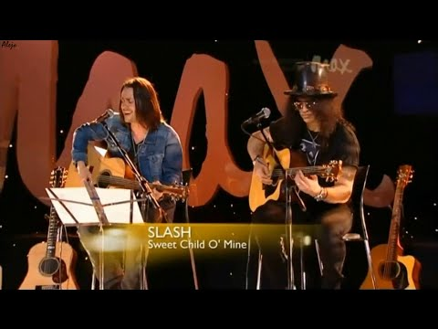 Sweet Child O' Mine Acustic -  Slash & Myles Kennedy - Live Max Sessions 2010 HD