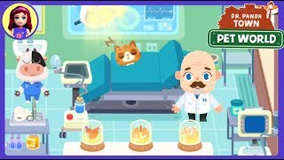 Want a Baby Unicorn? New Dr. Panda Town : Pet World App Gameplay Kids Toys