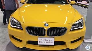 2019 BMW M6 Gran Coupe Exterior and Interior Walk around Auto Show
