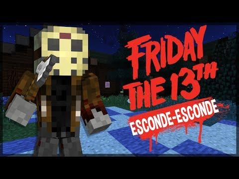 Minecraft: SÉRIE NOVA? ESCONDE-ESCONDE DO SEXTA FEIRA 13! (FT. FAMILIA CRAFT)