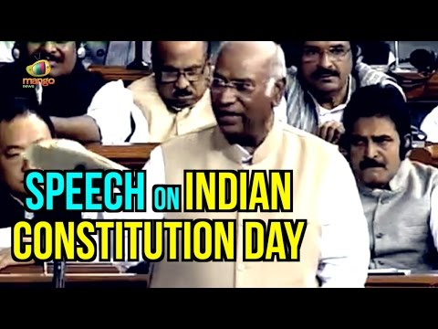 Mallikarjun Kharge Speech On Indian Constitution Day | Parliament Winter Session | Mango News