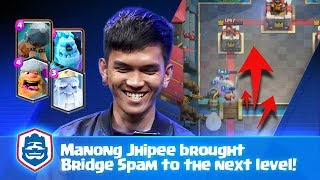 MANONG JHIPEE'S LETHAL BRIDGE SPAM DECK | Carrollus vs Manong Jhipee | CRL Asia