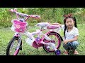 Video Shinta Belajar Naik Sepeda Baru - Kids Learning To Ride A Bicycle