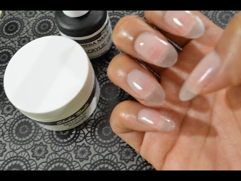 How To Gel Nails At Home (Super Easy) Featuring Sheba Nails GelCrylicSystem Music Videos
