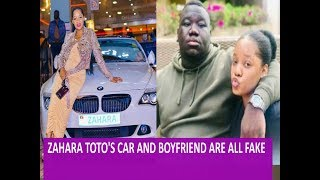 Zahara Toto's boyfriend and Car are all Fake