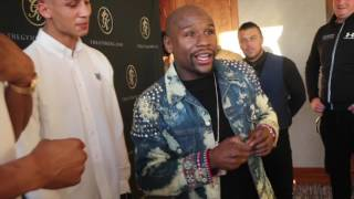 'THEY SAID AMIR KHAN COULD FIGHT' - FLOYD MAYWEATHER TAKES SWIPE AT AMIR KHAN OVER CANELO FIGHT