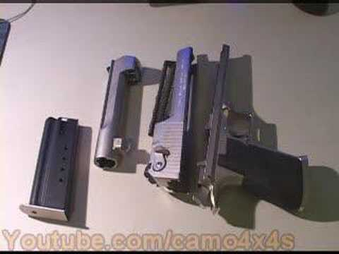 Field Strip Desert Eagle 50 Video