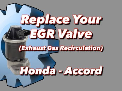 EGR replacement Honda Accord 6-Minute Repairs
