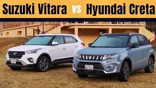 Suzuki VITARA vs Hyundai CRETA | Motoren Mx