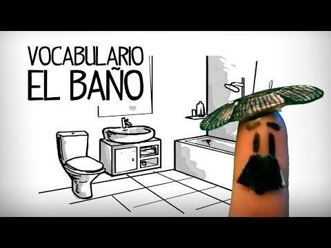 Vocabulario Cuarto De Baño En Español, Partes De La Casa