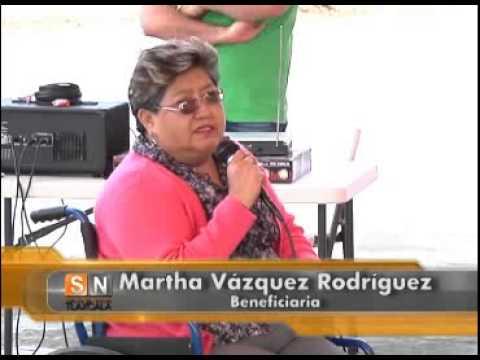 Se realiza en Tlaxcala tercera entrega de ayudas funcionales