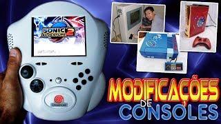 As Mais Loucas Modificações de Consoles